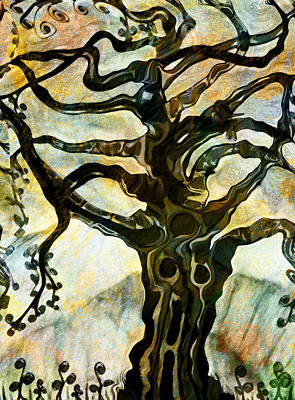 Painting - Tree Speak - Nature by Marie Jamieson