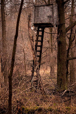 Photograph - Tree Stand And Hide by Gene Sherrill