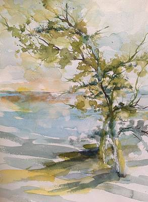 Principle Painting - Tree Study by Robin Miller-Bookhout