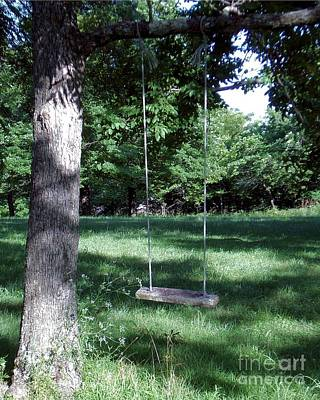 Photograph - Tree Swing by Mark McReynolds