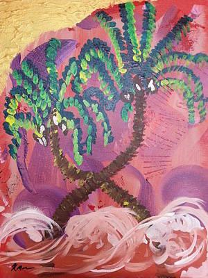 Scottsdale Western Painting - Tree Tango by Kyle Moran