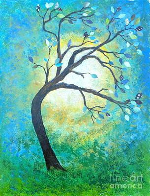 Tree Tango Art Print