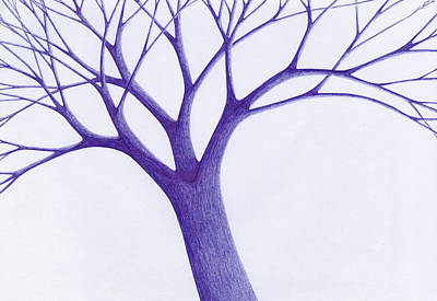 Tree - The Great Hand Of Nature Print by Giuseppe Epifani
