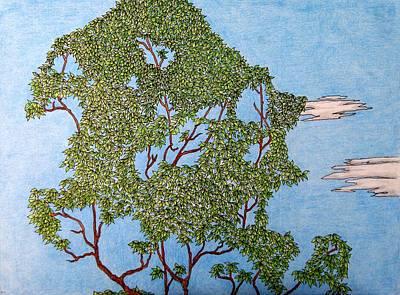 Tree Top 1 Of 3 Art Print