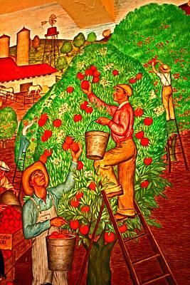 Tree Top Harvest Art Print