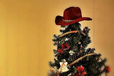 Photograph - Tree Topper Texas Style by Nadalyn Larsen