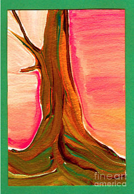 Painting - Tree Trunk by First Star Art