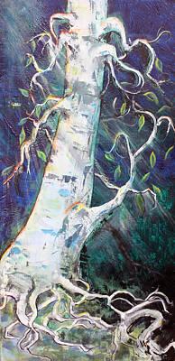 Tree Art Print by Valerie Wolf