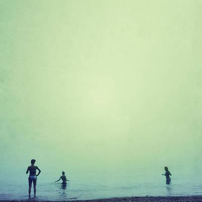 Beach Photograph - Tree Women Sea Dreams by Guido Montanes Castillo