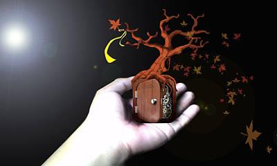 Treeclock Art Print by Racquel Delos Santos