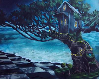 Painting - Treehouse by Lori Keilwitz
