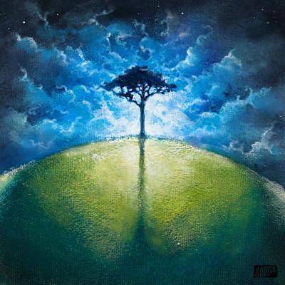 Treelogy I Art Print by Vincent Carrozza