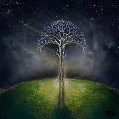 Treelogy II Art Print