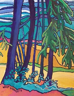 Trees .01 Art Print