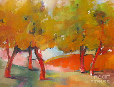 Painting - Trees #5 by Michelle Abrams