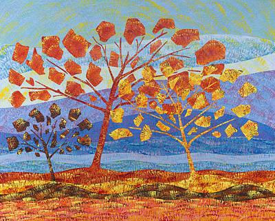 Trees Fall Art Print