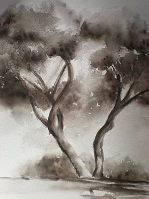 Painting - Trees by Lori Chase