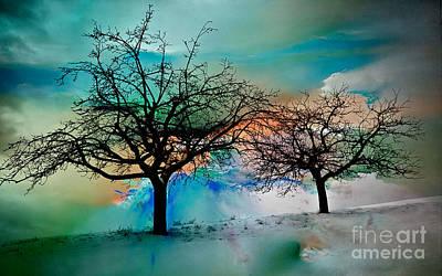 Trees Art Print by Marvin Blaine