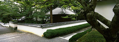 Trees Near A Temple, Nanzenji Temple Art Print