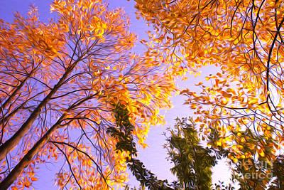 Trees Art Print by Nur Roy