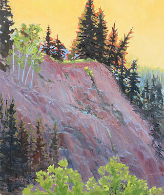 Painting - Trees On Top by Susan McCullough