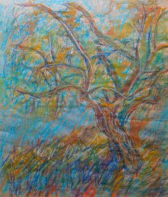 Mixed Media - Trees That Speak by Esther Newman-Cohen
