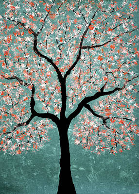 Treescape 1 Art Print by Sumit Mehndiratta