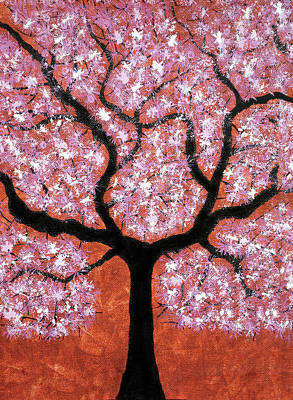 Tree Roots Painting - Treescape 2 by Sumit Mehndiratta