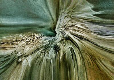 Pastel - Treescape 3 - 2010 by Glenn Bautista
