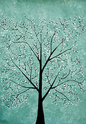 Tree Roots Painting - Treescape 5 by Sumit Mehndiratta