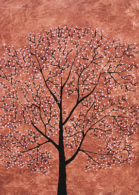 Tree Roots Painting - Treescape 7 by Sumit Mehndiratta