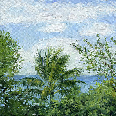Haleiwa Painting - Treetops by Stacy Vosberg