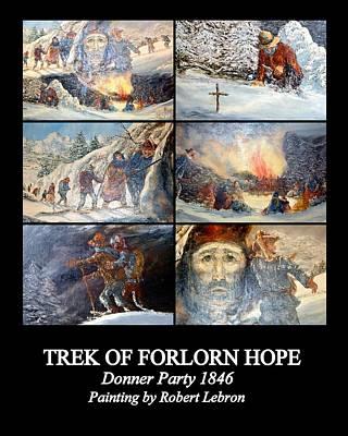 Photograph - Trek Of Forlorn Hope by AJ  Schibig