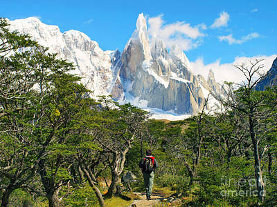 Photograph - Trekking In Patagonia by JR Photography