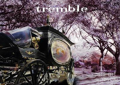 Digital Art - Tremble by Lizi Beard-Ward