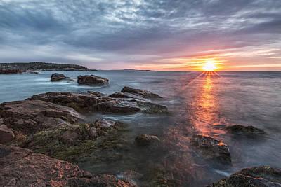 Maine Fine Art Photograph - Trembling On The Shore by Jon Glaser
