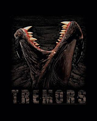 Earthquake Digital Art - Tremors - Monster by Brand A