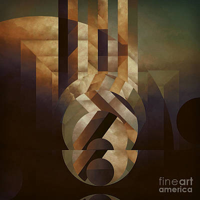 Tremulous Sphere Art Print by Lonnie Christopher