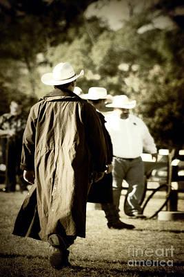 Trenchcoat Cowboy Art Print
