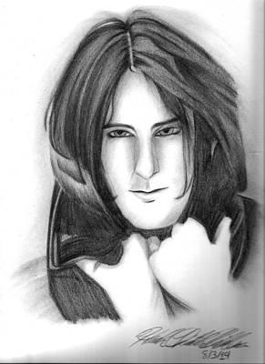 Trent Reznor Drawing - Trent Reznor by Hannah Christine Nicholson