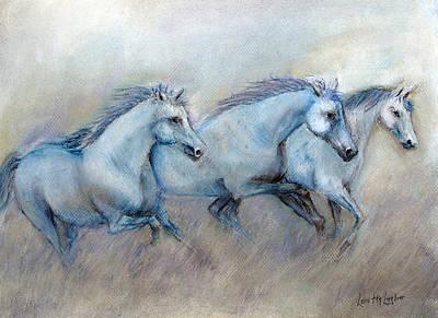 Painting - Tres Amigos by Loretta Luglio