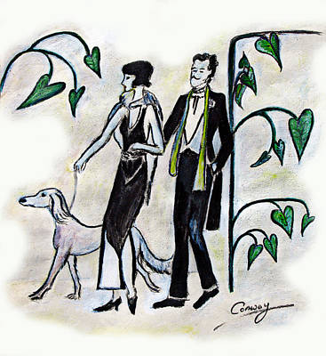 Painting - Tres Chic by Tom Conway