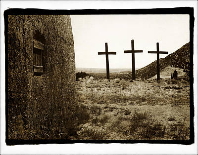 Tres Cruces New Mexico Art Print
