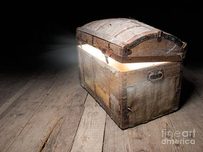 Treasure Box Photograph - Tresaure Chest by Sinisa Botas