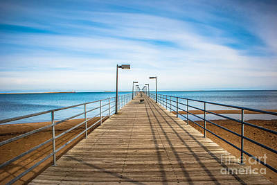 Photograph - Trescott Street Pier by Grace Grogan