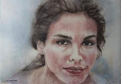 Top Model Painting - Tresor by Ana Munoz