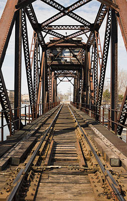 Appleton Photograph - Trestle by Hope Ozolins
