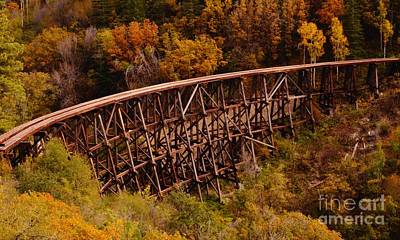 Photograph - Trestle by Kerri Mortenson