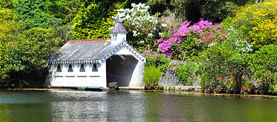Photograph - Trevarno Boathouse by Ian Cocklin