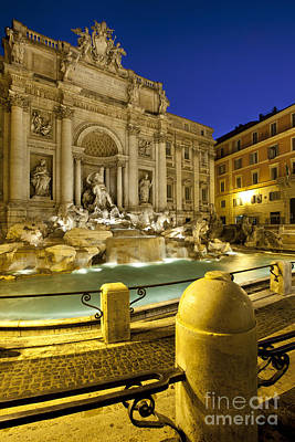 Photograph - Trevi Fountain by Brian Jannsen